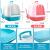 【1つ買います。8つ送ります。】イパースELEIPEX(ELLIPEX)猫砂盆カバ式Lセイズ単層猫トイレで臭気防止猫の糞鉢に入れた猫砂鉢のペットブルー+8つのセットのプレゼントです。