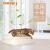 ペケーイ開け放し型猫砂盆半閉塞猫トイレSサイズ猫大便器特Lサズ二階猫砂盆猫用品清潔除味砂心橙之恋オレンジ単層Mセイズ