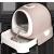 ビカ猫砂盆全閉塞猫トリレ引出し式猫砂盤防臭Lズズ便器防外跳猫糞鉢ミルテー