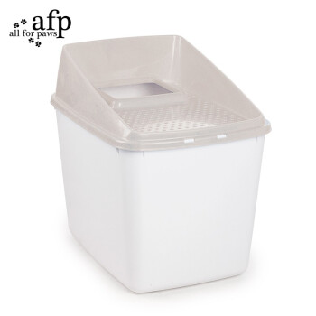 afp猫砂鉢の頂入式により、全閉塞防止の超大型MサズLサズ脱臭砂の飛散防止トイレ長通路茶色いLサズ