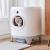 シーザーぺスマイト全自動猫砂トレイトイレスト猫砂盆電動シャベル全閉塞特Lセイズ自動跳ね防止トイレ+猫砂+浄化液+ゴミ袋+マット