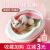 猫砂钵Sセイズの赤ちゃん猫専用の砂盘防外跳ね猫トイレ猫の糞钵半闭锁猫砂盘便器Mセイズピンク(48*36*16 cm)